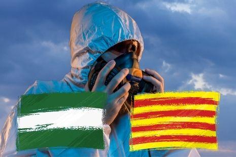 Andalucía y Cataluña líderes en emisiones CO2