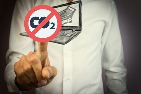 Las emisiones de CO2 influyen en las decisiones de compra online
